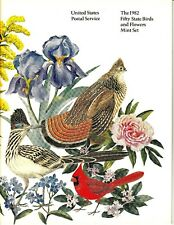 1982 USPS THE FIFTY STATE BIRDS AND FLOWERS MINT SET 801