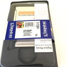 Kingston CompactFlash PC Card Adapter CF/ADP New Open Box
