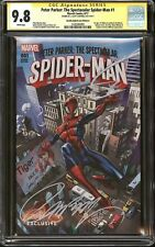 PETER PARKER:THE SPECTACULAR SPIDER-MAN #1 CGC 9.8 SS J SCOTT CAMPBELL EDITION A