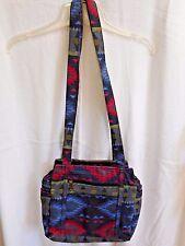 Multicolored Women's Cloth Handbag Shoulder Bag Purse
