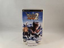 MONSTER HUNTER FREEDOM 2 SONY PSP PLAYSTATION PORTABLE PAL ITA ITALIANO COMPLETO