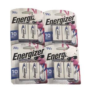Energizer Ultimate Lithium 9 volt 9V Battery Lot Of 8 Exp 12/2028 Sealed