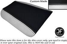 Black & White de vinilo se ajusta Cagiva Mito 125 1990-1994 Trasero Personalizado Cubierta de asiento solamente