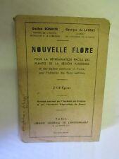 """Bonnier """"Nouvelle Flore pour la détermination des plantes Région Parisienne"""""""