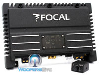 FOCAL SOLID-1 BLACK 1 CHANNEL MONO AMP 940W MAX SUB SUBWOOFERS CAR AMPLIFIER NEW