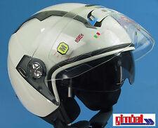 "*IXS Helm * Jethelm * HX 85  ""PILOT"" Gr. XS 53/54 * Rollerhelm mit Sonnenblende"