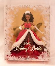 2007 African American Holiday Barbie #K7959