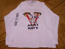 Army vs. Navy Football 1986 Long Sleeve Shirt LOOK!