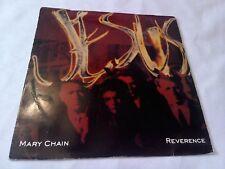 "The Jesus & Mary Chain Reverence 7"" Single EX Vinyl Record NEG 55 P/S"