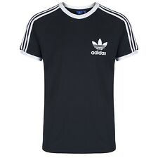 Adidas Originals Mens Casual Black Grey White Navy T-Shirts XS S M L XL XXL