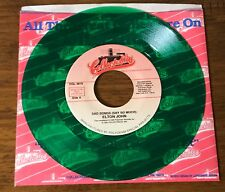 ELTON JOHN ~ GREEN COLORED VINYL 45 WITH PICTURE SLEEVE  1992