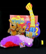 The Wiggles Toy Lot Musical Guitar SpinMaster Wags Dog, Board Game, Feathersword