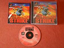 SOVIET STRIKE / PAL - EURO / CIB - COMPLETE / PLAYSTATION  PSX  **  429