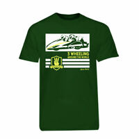 Green 3 Wheeling T-shirt Official 3 Wheeling Around the World Sidecar Racing Tee
