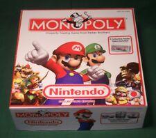 2008 Nintendo Monopoly Game Complete Very Good Mario Luigi HASBRO VGC