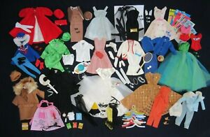 AUCTION Vintage BARBIE - Large Lot - Early Outfits Clothing Shoes Accessories #2