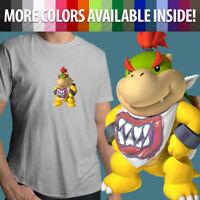 Nintendo Super Mario Bros Bowser Jr Koopa Villain Unisex Mens Tee Crew T-Shirt