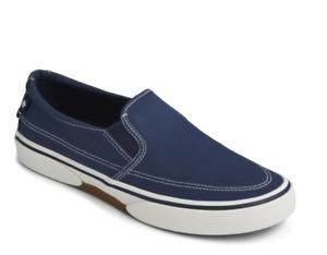 SPERRY Men's Sperry, Halyard Slip-On Navy  Size: US 12    NIB
