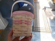 Longaberger 2002 Whitewashed Horizon of Hope Basket