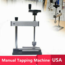 S/N2008 1-8mm Diy Desktop Manual Tapping Machine Metal Tapping Threading Tap