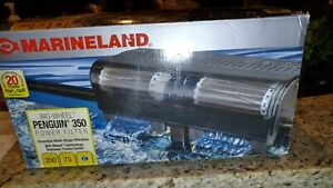 NIB Marineland Penguin 350 for up to 75 Gl tank 350 Gl/Hr power wheel filter