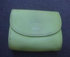 Porte monnaie Longchamp en cuir