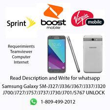 Unlock Samsung Galaxy SM-J327/J320/J337/J727/J737/ READ DESCRIPTION