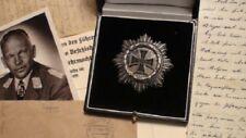 Authentic WWII WW2 WH Luftwaffe Knights Iron German Cross Silver Diamonds