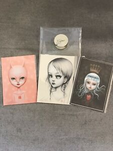 mab graves 3 Signed & Numbered Mini aceo Glow Art prints - Only 25 Printed
