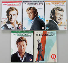 The MENTALIST seasons 1,2,3,4,5 DVD box sets R2 Complete! EXCELLENT CONDITION!