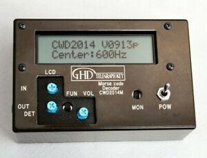 Morse Code Reader/Decoder(GHD CWD2014M), ship by Courier