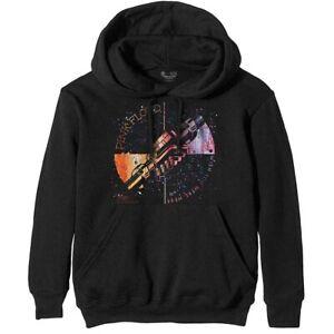 Pink Floyd Wish You Were Here Orange Greeting Official Unisex Hoodie Hooded Top