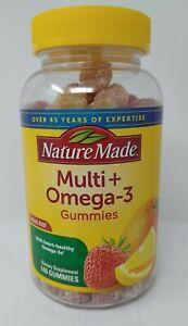 Nature Made Multi & Omega-3 Gummies 140 Ct, Exp 01/2022, #2134