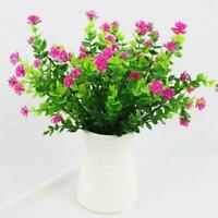 1/4 PCS Decorative Artificial Flower Indoor Outdoor Garden Simulation V7V5