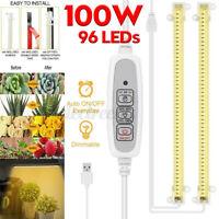 2 PCS 100W Lampada LED Per crescita Grow Light Per Piante e Coltivazione Indoor