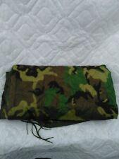 New US Military Surplus USGI Woodland Camo Poncho Liner WOOBIE Blanket 1990s