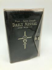 New Saint Joseph Daily Missal and Hymnal 1966 Catholic