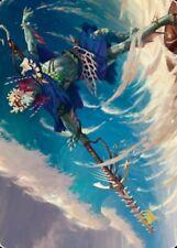 Magic the Gathering (mtg): ZNR Art: Tazeem Roilmage   # 51 / 81  Gold Stamped