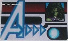 Nfid-006 She-Hulk Id Card Nick Fury Agent of S.H.I.E.L.D Marvel Heroclix