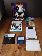 SUPER RARE BOXED 1993 FLOPPY DISK DOGNAPPED GAME FROGGMAN TATTOO USA PC CD ROM