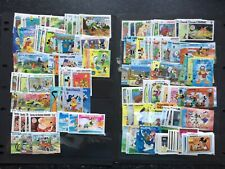 More details for disney stamps - small collection of 400 different unmounted mint disney stamps