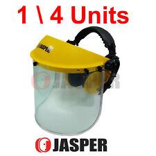 14 x Jasper Browguard Face Shield Clear Visor + Ear Muffs ANSI Z87.1 CE EN1731