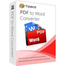PDF to Word Converter Tipard dt.Vollversion- lebenslange Lizenz ESD Download