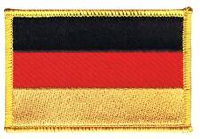 Deutschland Aufnäher Flaggen Fahnen Patch Aufbügler 8x6cm