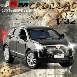 Cadillac XT5 SUV 1:32 Diecast Model Car Toy Sound&Light Suspension Collections