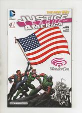 Justice League Of America #1 - WonderCon Variant - (Grade 9.2) 2013