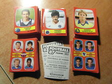 original FOOTBALL STICKERS PANINI FOOT 87 1987 FRANCE Choisir dans liste