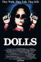 1987 DOLLS VINTAGE HORROR FILM MOVIE POSTER PRINT 24x16 9 MIL PAPER