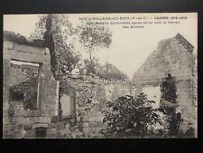 WW1 France VILLERS AU POIS, GUERRE 1914-1916