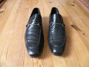 MENS GUCCI HORSEBIT LOAFERS BLACK  UK10.5 US 11 EU 45